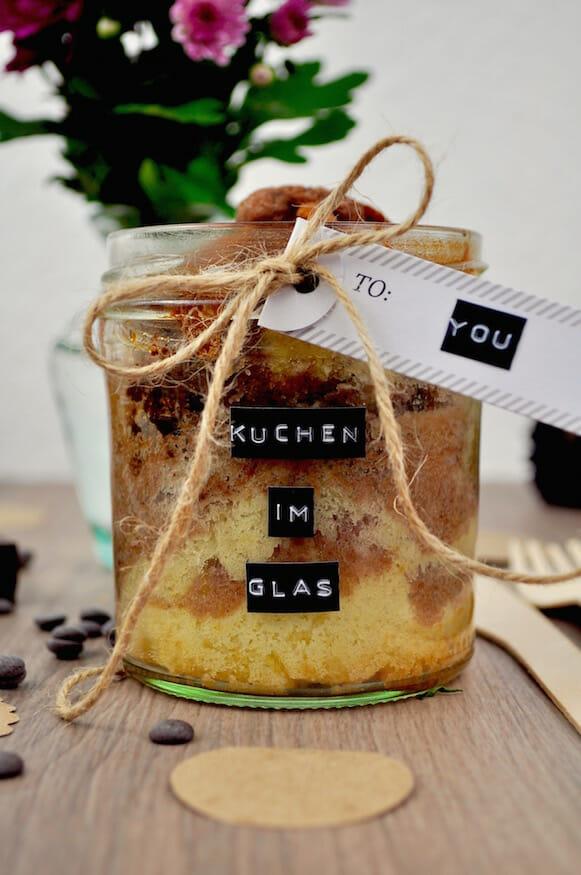 Kuchen im Glas - Rezept von Fräulein Selbstgemacht