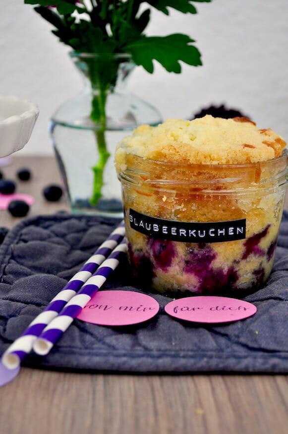 Blaubeerkuchen - Rezept von Fräulein Selbstgemacht