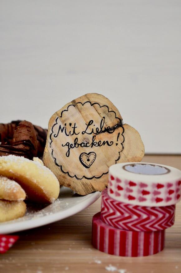 Leckere Vanillekipferl und Schokoladenkipferl von Fräulein Selbstgemacht