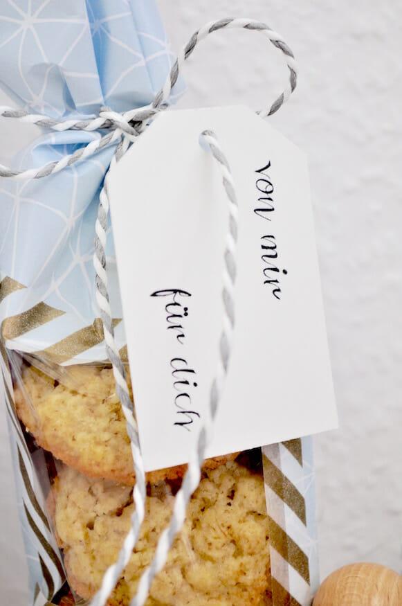 Keksverpackung selbst gemacht - Anleitung von Fräulein Selbstgemacht