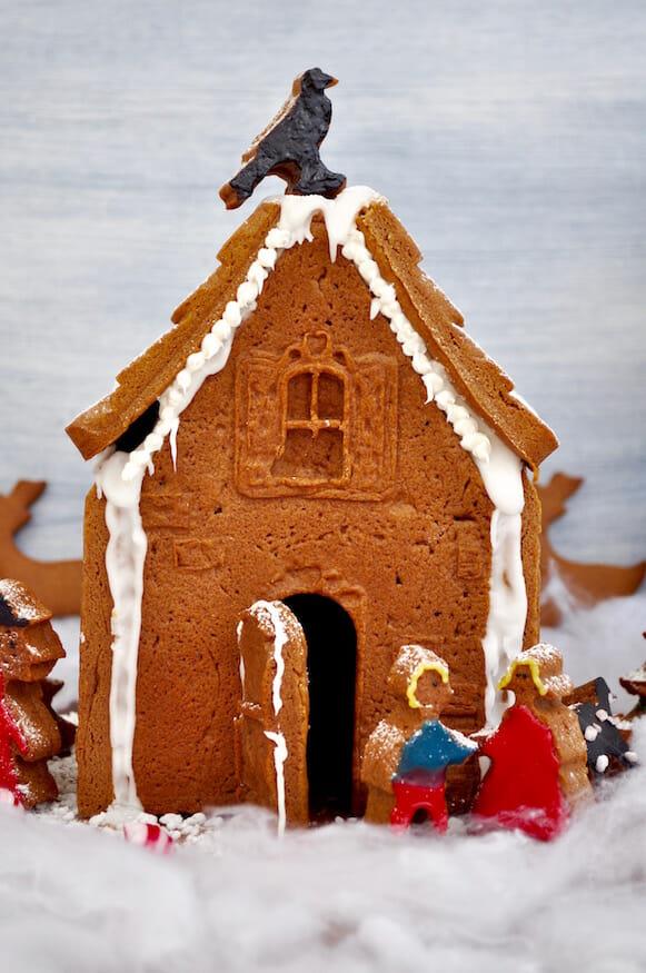 Lebkuchenhaus mit Backform von Birkmann