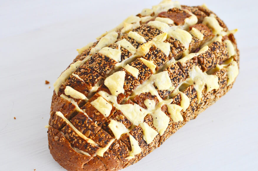 Käse-Knoblauch Brot von Fräulein Selbstgemacht