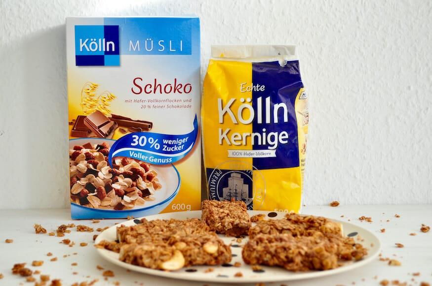 Schokoladen Müsliriegel von Fräulein Selbstgemacht