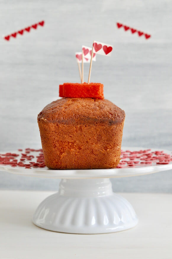 Herzkuchen zum Valentinstag - Fräulein Selbstgemacht