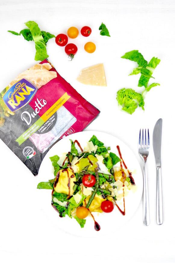 Tortellini Salat mit eingelegtem Spargel von Fräulein Selbstgemacht