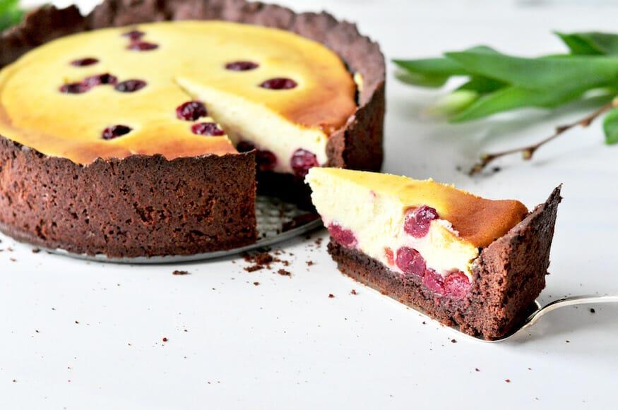 Schokoladen Kirsch Käsekuchen von Fräulein Selbstgemacht