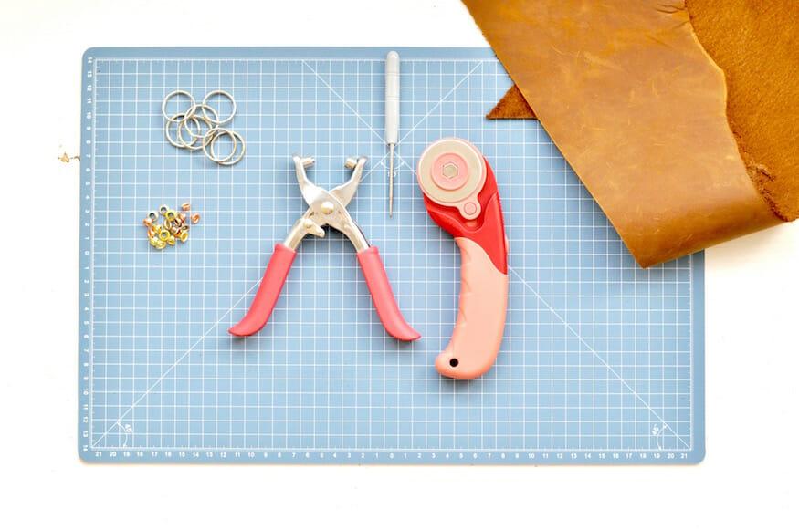 schlüsselanhänger aus leder selber machen, Wohnzimmer dekoo