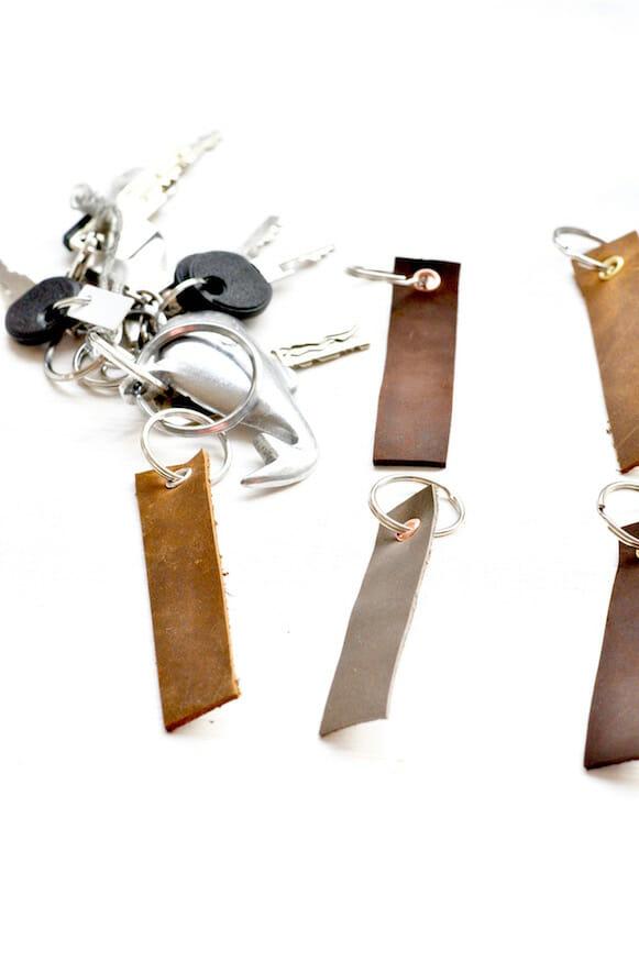 Schlüsselanhänger selber basteln von Fräulein Selbstgemacht