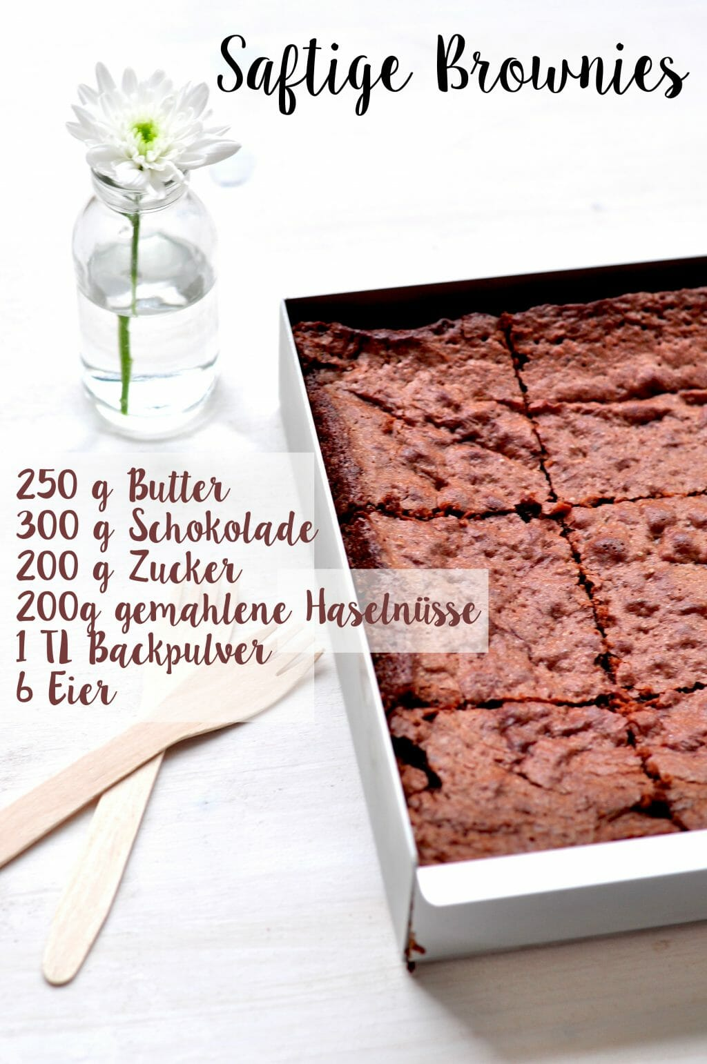 Brownie Rezept Pinterest