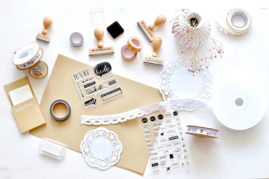 Hochzeits DIY für Freudentränen - Taschentücher Aufbewahrung von Fräulein Selbstgemacht