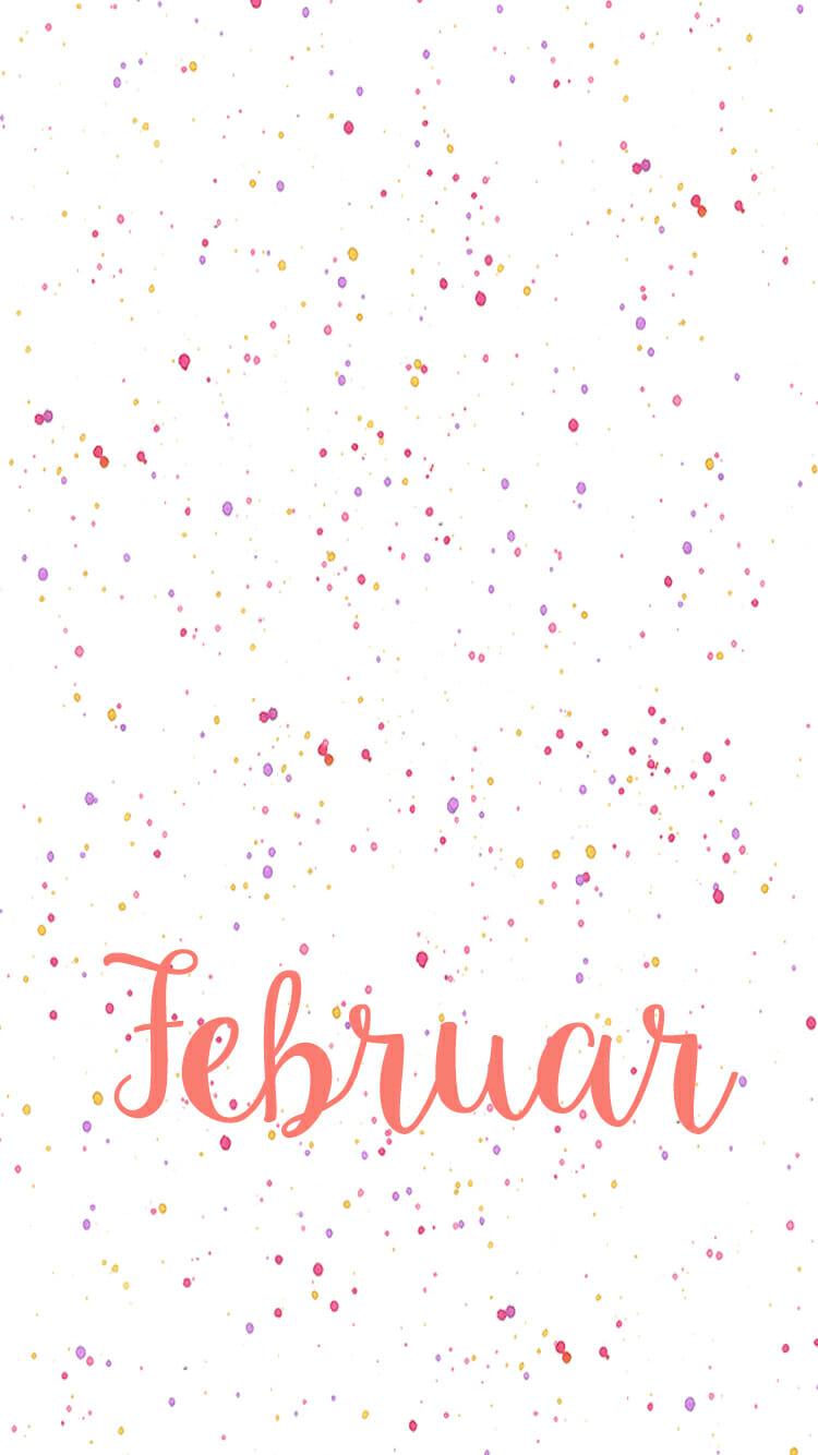 iPhone Hintergrund Februar