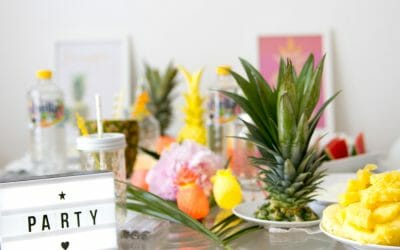ANANAS PARTY DIYS + POSTER PRINTABLES (Werbung)