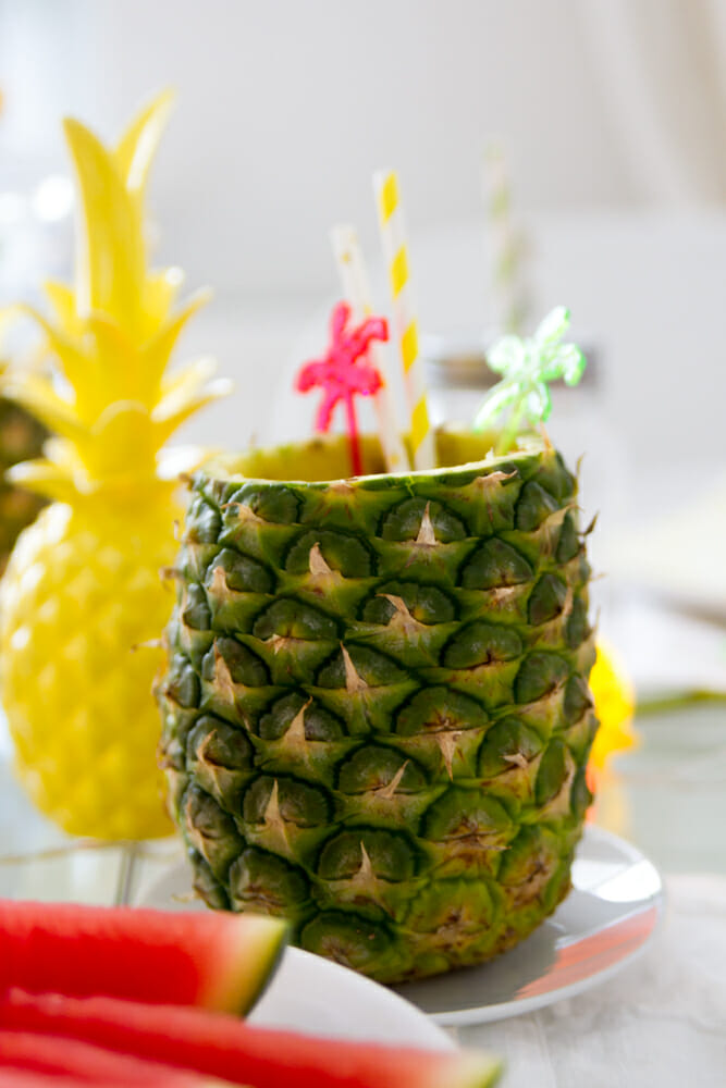 Ananas Party Dekoration