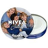 NIVEA Creme Fotodose (75ml) - Personalisiertes Geschenk zur Hochzeit, zur Baby-Geburt, zu Weihnachten oder einfach für Dich - NIVEA Dose individuell gestalten mit Deinem Foto