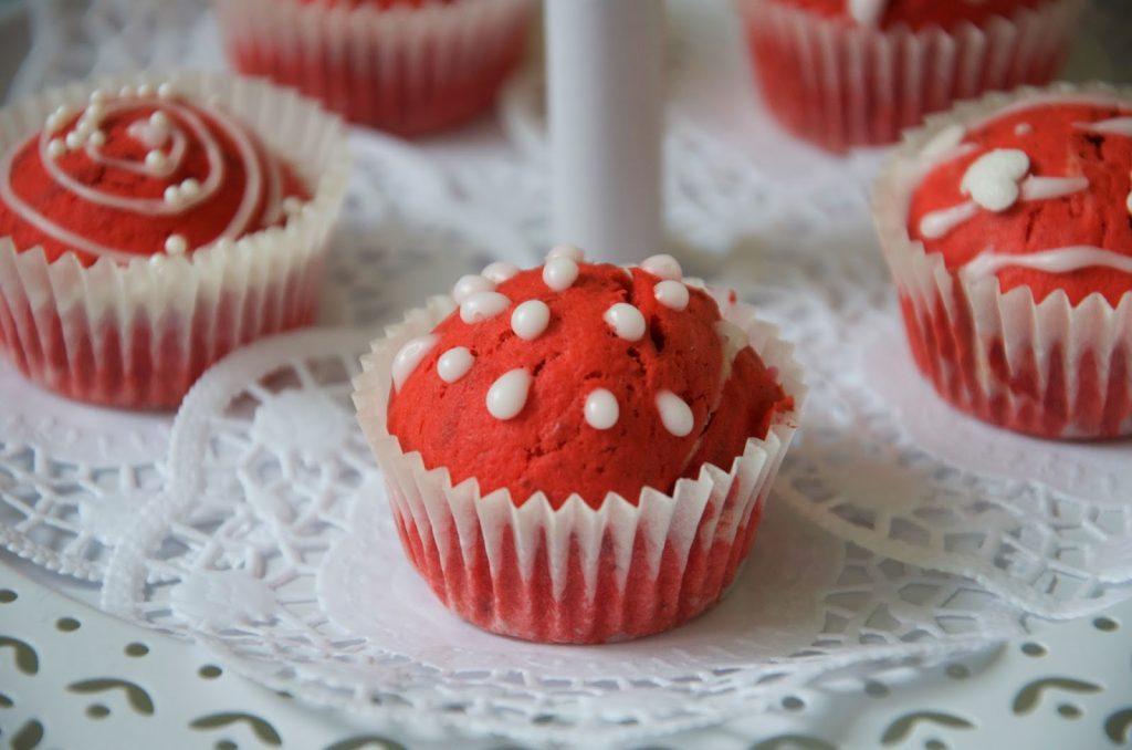 Einfach Red Velvet Muffins