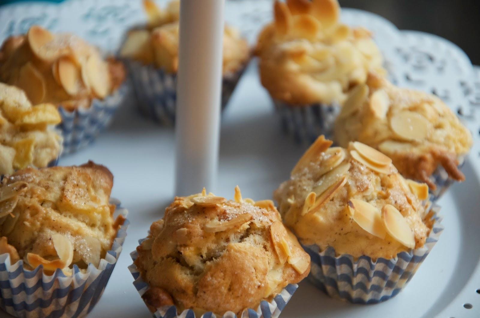 Apfel Muffins mit Zimt