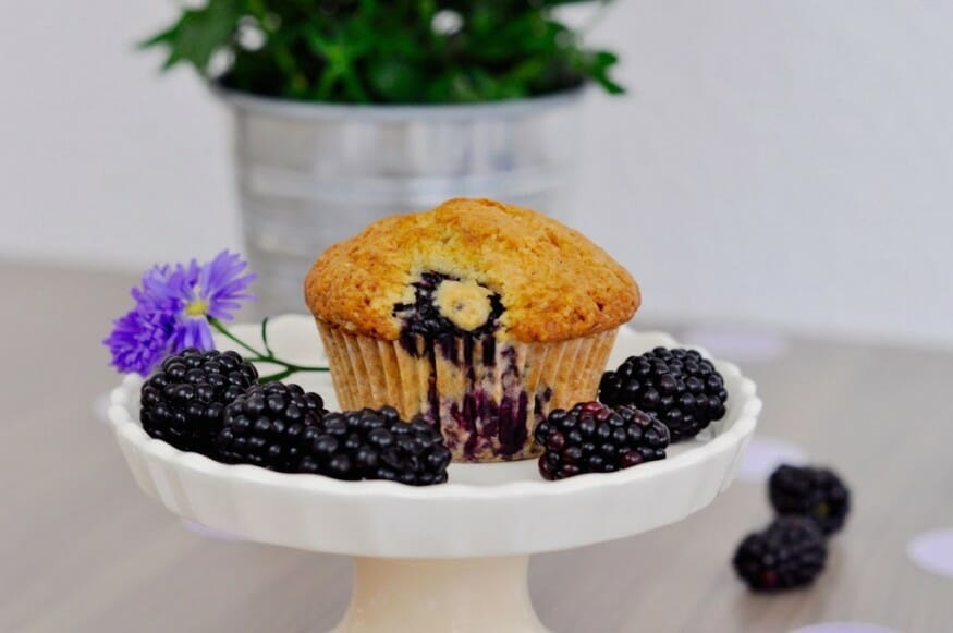 BROMBEERE MUFFIN'S SELBER BACKEN