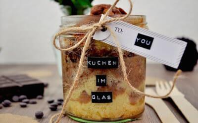 KUCHEN IM GLAS –  MARMORKUCHEN SCHNELL GEBACKEN