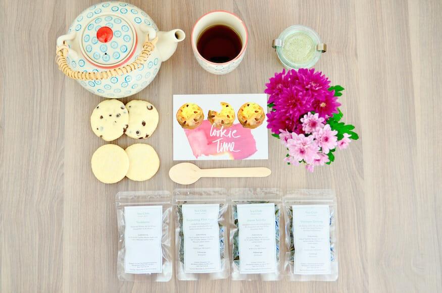 Leckeres Tee Gebäck und Infos über den Tea-Club