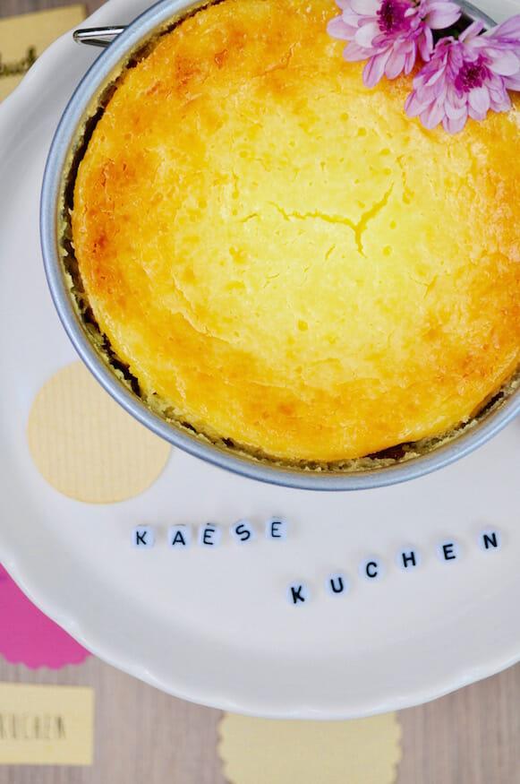 Käsekuchen - schnell und einfach gebacken!Käsekuchen - schnell und einfach gebacken!