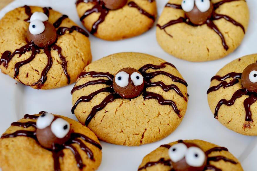Rezept für Spinnen Cookies von Fräulein Selbstgemacht