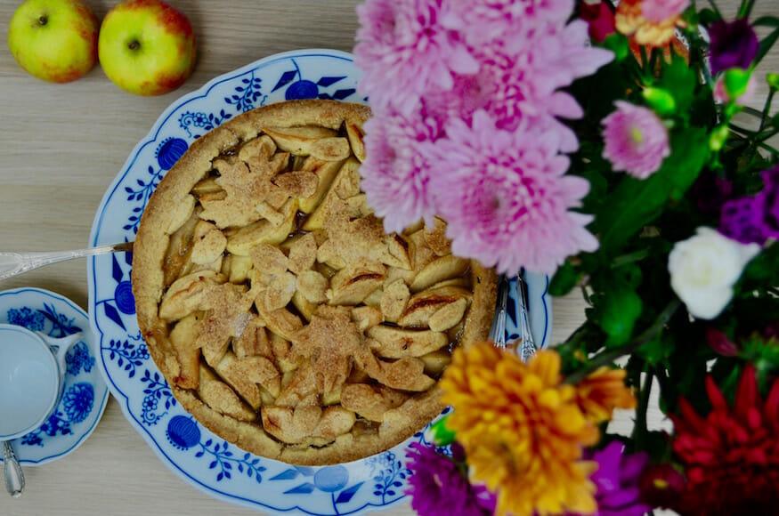 Leckerer Apple Pie für das Pie-Event