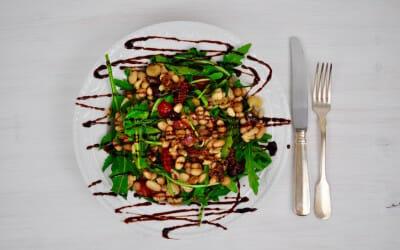 Degustabox September 2015 und Rucola-Bohnen Salat