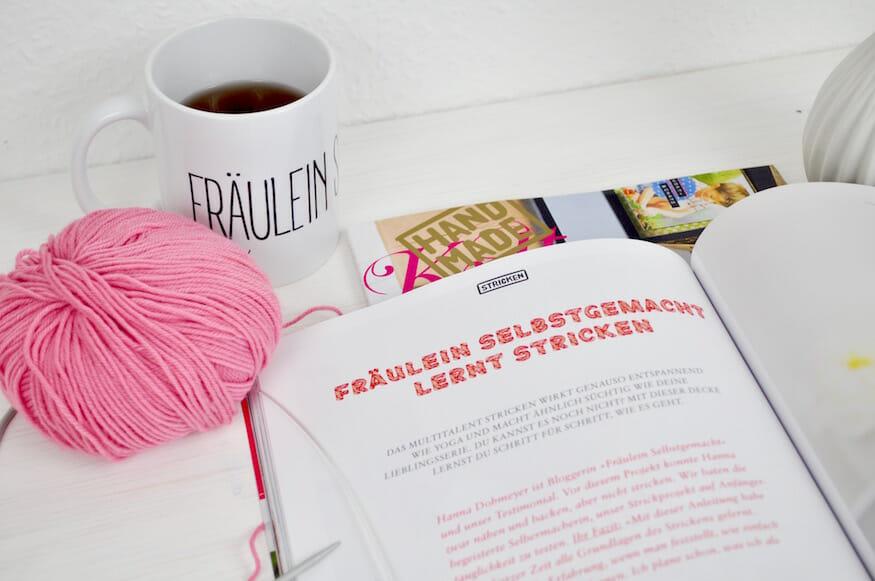 Stricken lernen mit der Handmade Kultur - Fräulein Selbstgemacht