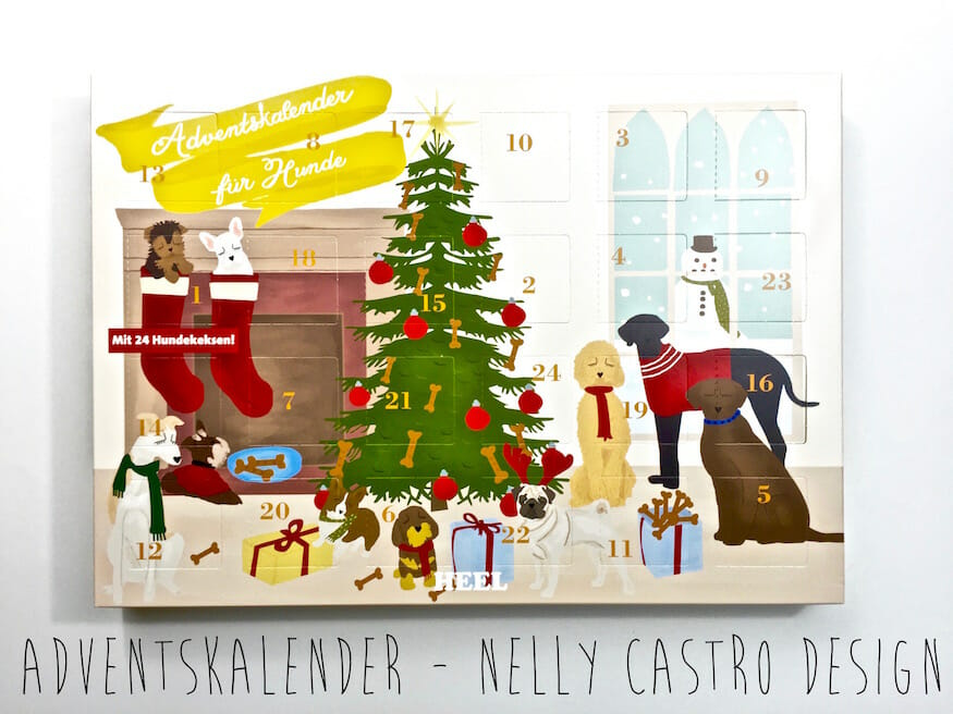 Adventskalender von Nelly Castro Design
