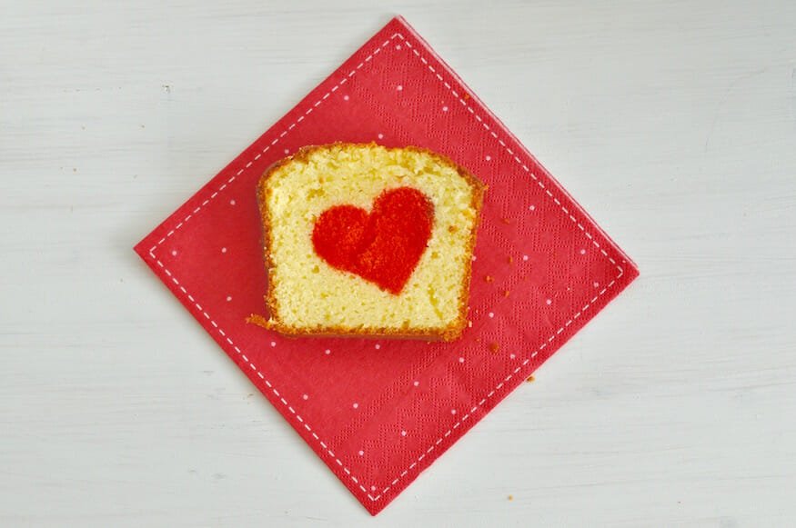 Herzkuchen Zum Valentinstag Von Fraulein Selbstgemacht