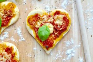 Pizzaherzen zum Valentinstag von Fräulein Selbstgemacht