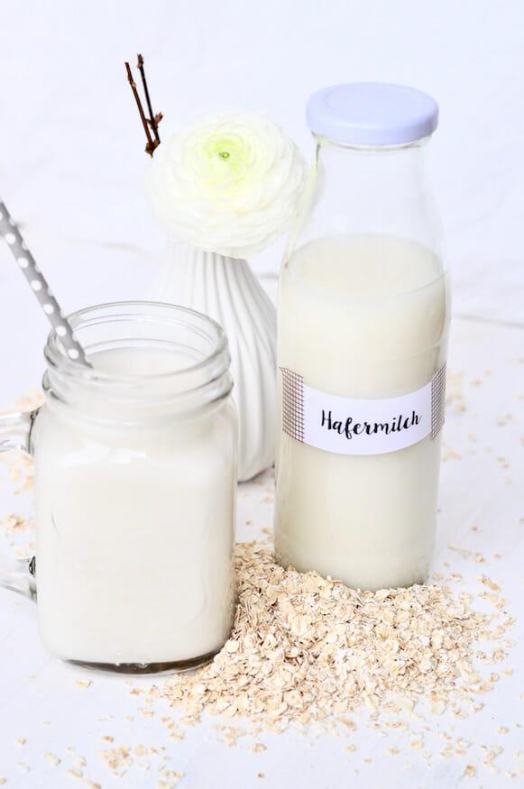 Selbst gemachte Hafermilch von Fräulein Selbstgemacht
