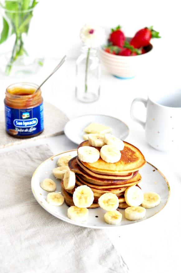 Pancakes-zum-Frühstück