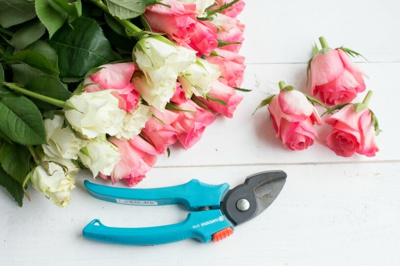 Decorize Fruhling Blumen Tischdeko Buchstaben 5 Fraulein
