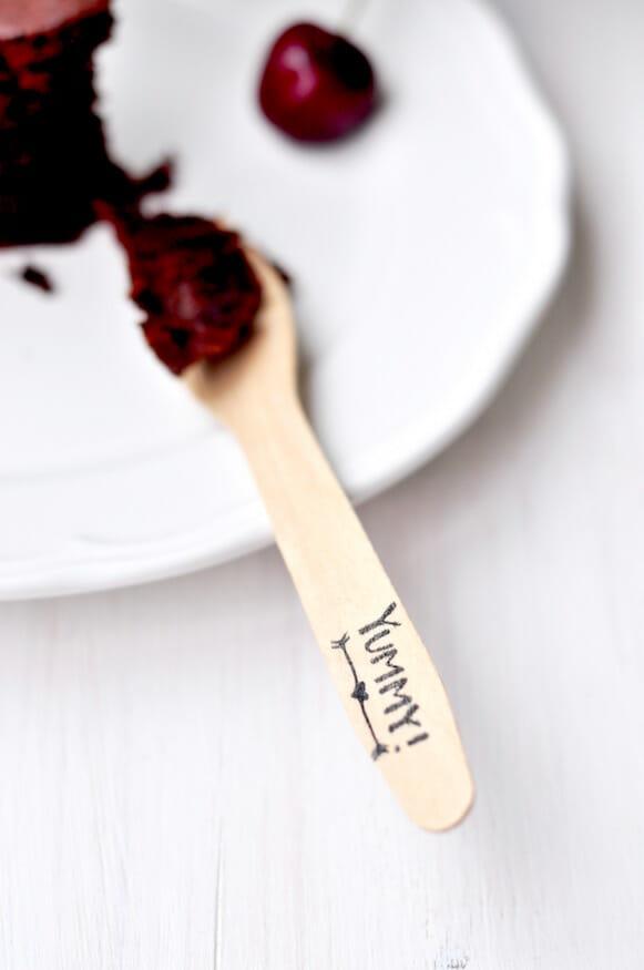 Leckerer Schokoladenkirschkuchen von Fräulein Selbstgemacht