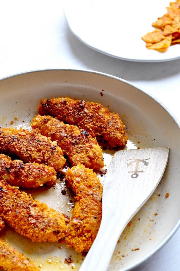 Hühnchen mit Chips Panade von Fräulein Selbstgemacht