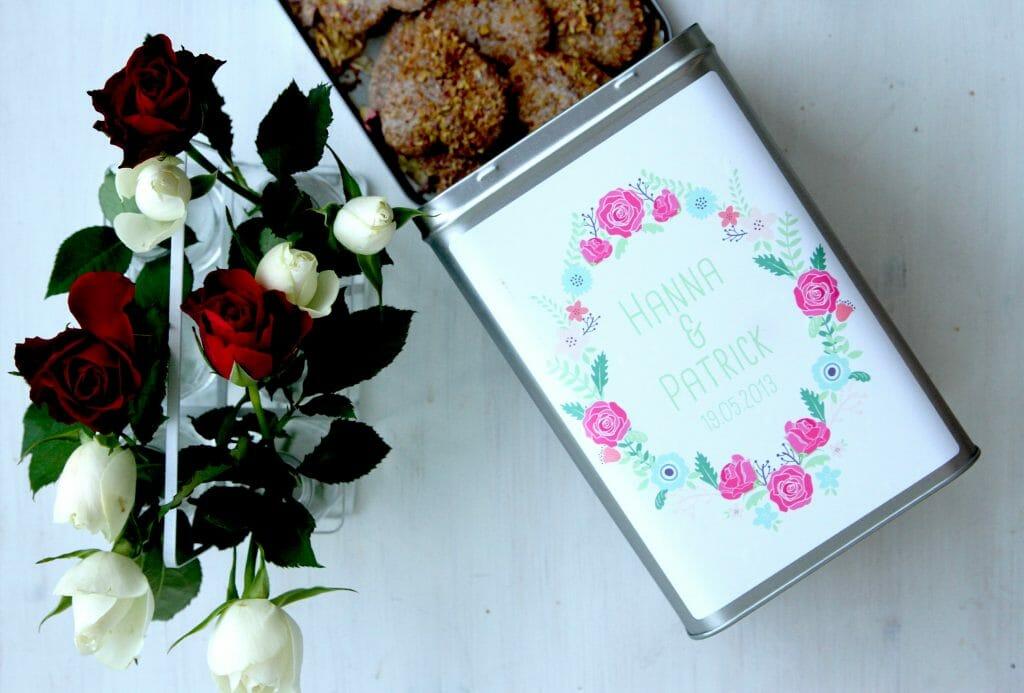 Rosenblütenkekse von Fräulein Selbstgemacht