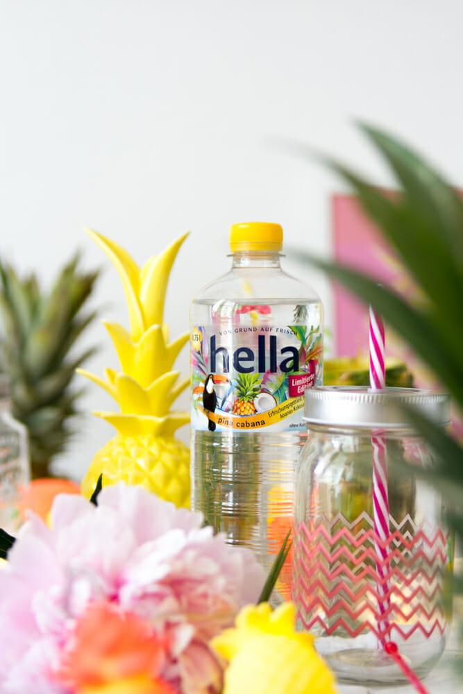 Ananas Party Dekoration und Pina Cabana von Hella