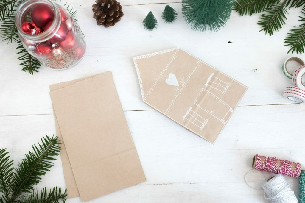 kraftpapier-verpackung-als-haus-geschenkverpackung-schritt-für-schritt-3