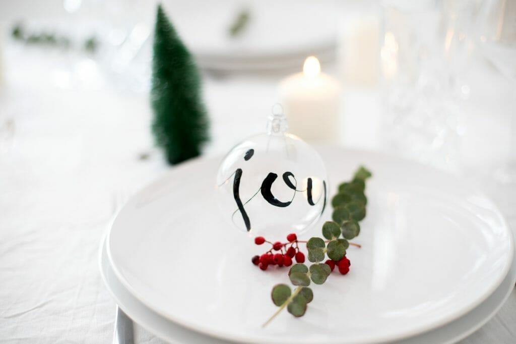 Seit Wann Gibt Es Christbaumkugeln.Christbaumkugeln Mit Lettering Gestalten Zu Weihnachten Ein Hightlight