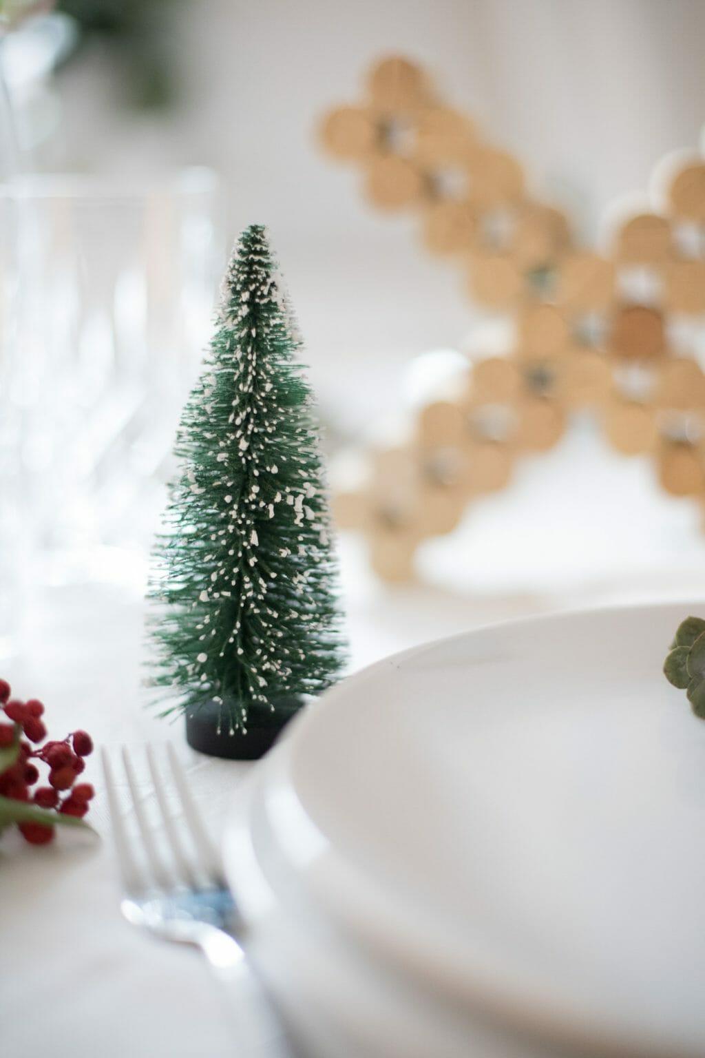 Kork Buchstaben Als Weihnachts Tisch Dekoration 8 Fraulein
