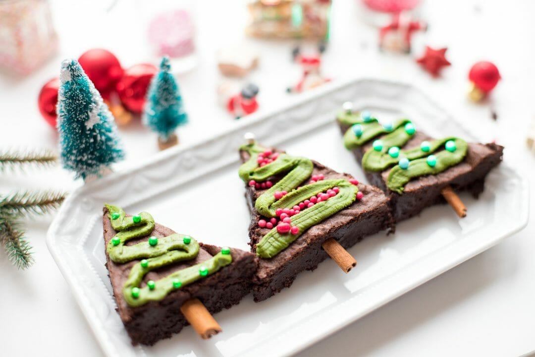 tannenbaum brownies in vier schritten einfach selber machen. Black Bedroom Furniture Sets. Home Design Ideas