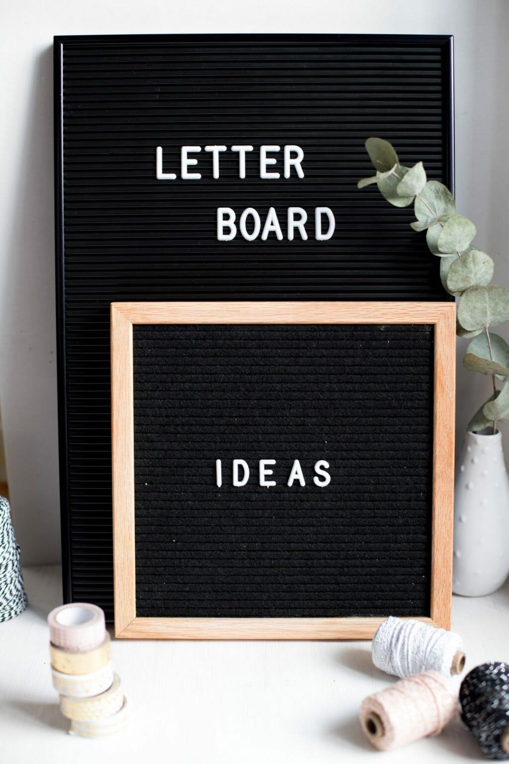 Letter Board Spruche Ideen Praktische Tipps Zum Kauf Anwendung