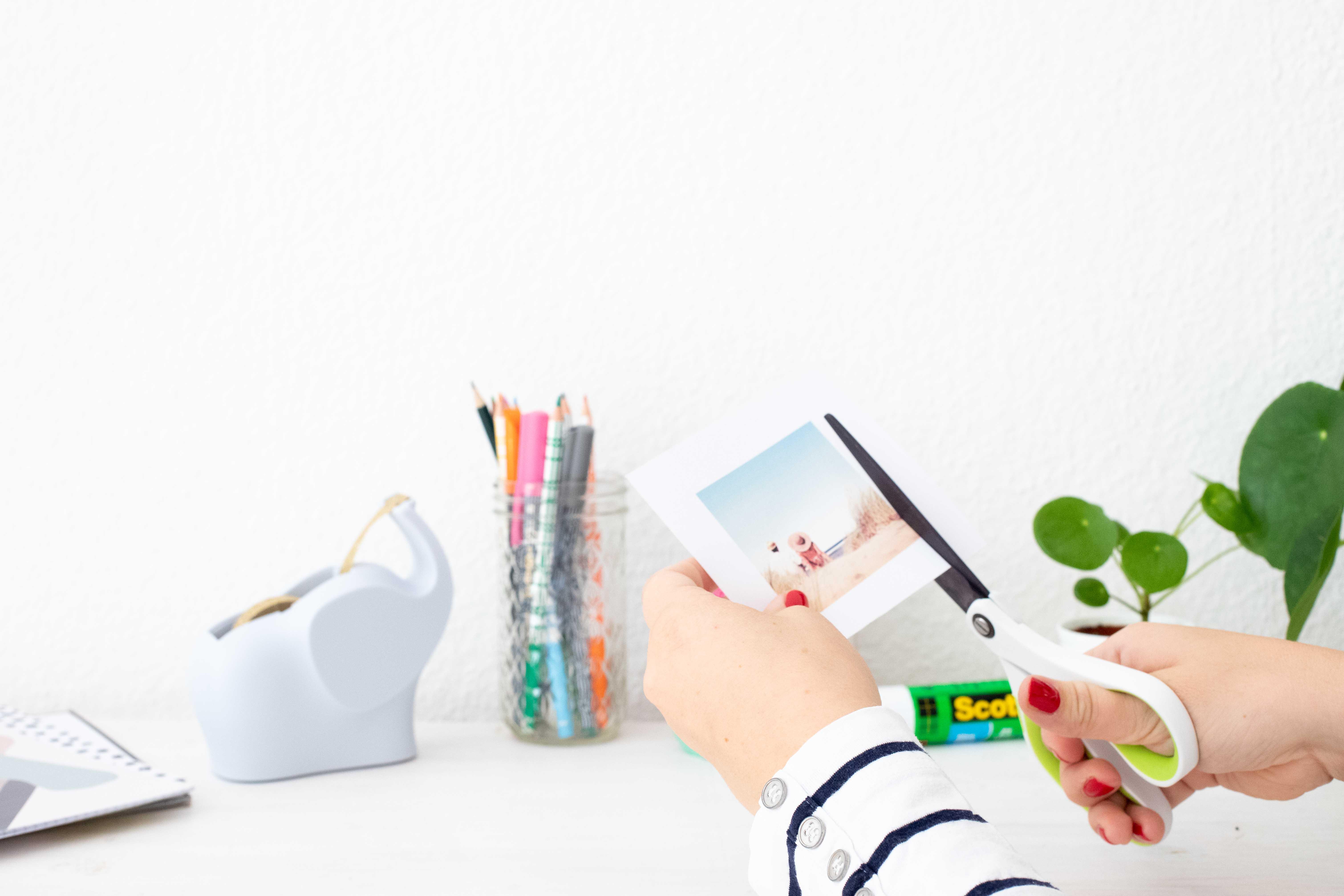 Bilderrahmen aus Masking Tape einfach und schnell selber machen
