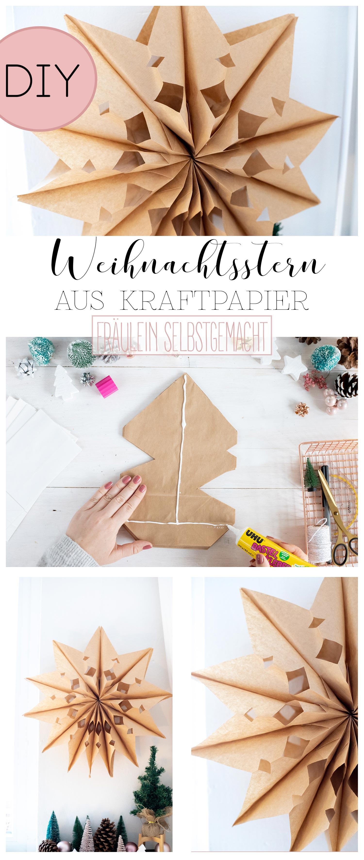 Weihnachtsstern_aus_Kraftpapier